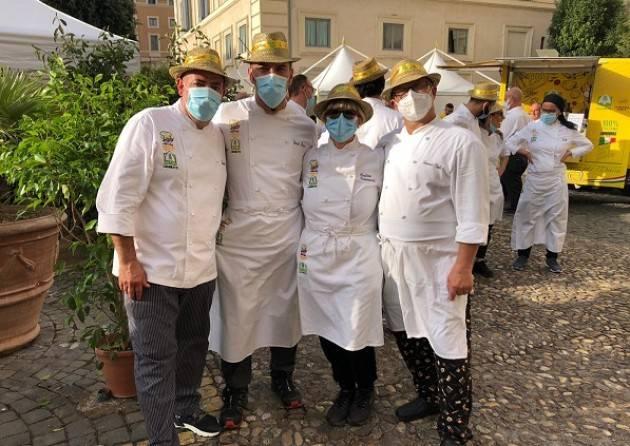 Coldiretti Cremona: Il cuoco contadino Mazza da Spino al Summit Onu a Roma