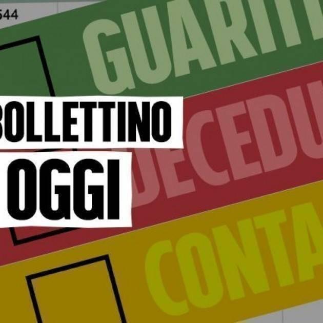 Bollettino COVID19 Italia del 1 agosto 2021