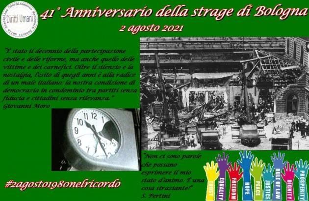 CNDDU 41° anniversario strage Bologna da ricordare e studiare nelle scuole