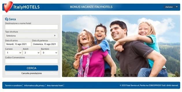 Quasi un milione di famiglie italiane sono andate in vacanza grazie al bonus