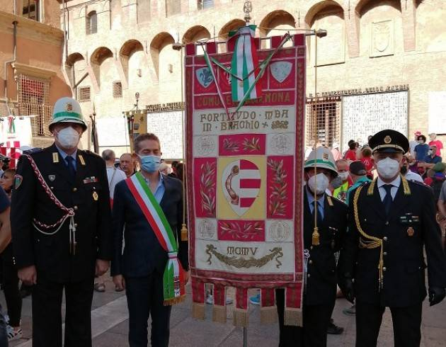 Lapo Pasquetti rappresenta Cremona a Bologna nel 41° anniversario strage