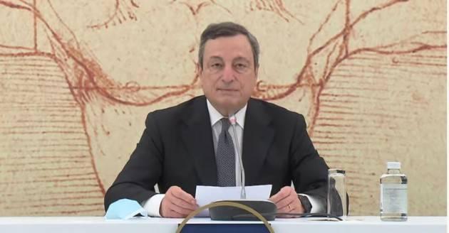 Draghi a colloquio telefonico con il Presidente Said