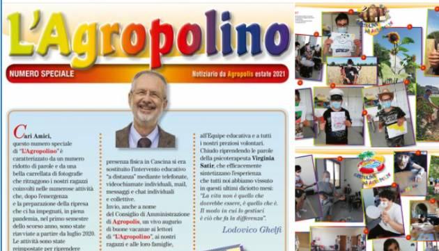 Cremona Cooperativa Sociale Agropolis ONLUS  Lo speciale di Agropolino è on line