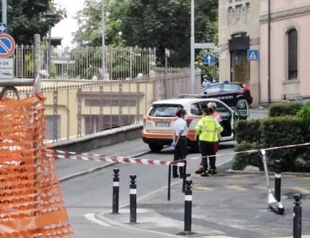 BERGAMO- LITE FINISCE IN TRAGEDIA: 20ENNE ACCOLTELLA E UCCIDE 34ENNE - FOTO