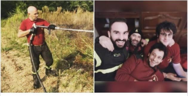 Cosimo : sono orgoglioso di far parte del gruppo  V.V.F. Volontari di  Piadena