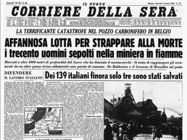 I Casalaschi nell'inferno di Marcinelle | Giuseppe Azzoni