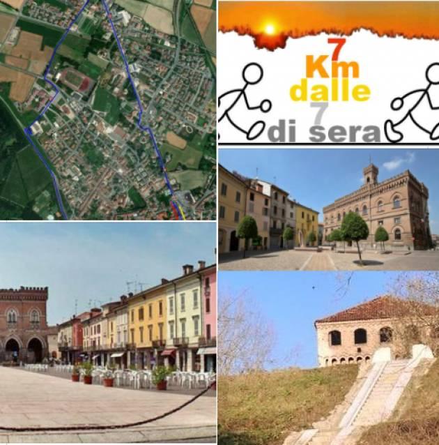 Camminata a passo lento di 7 km a Casalmaggiore giovedì 12 agosto.