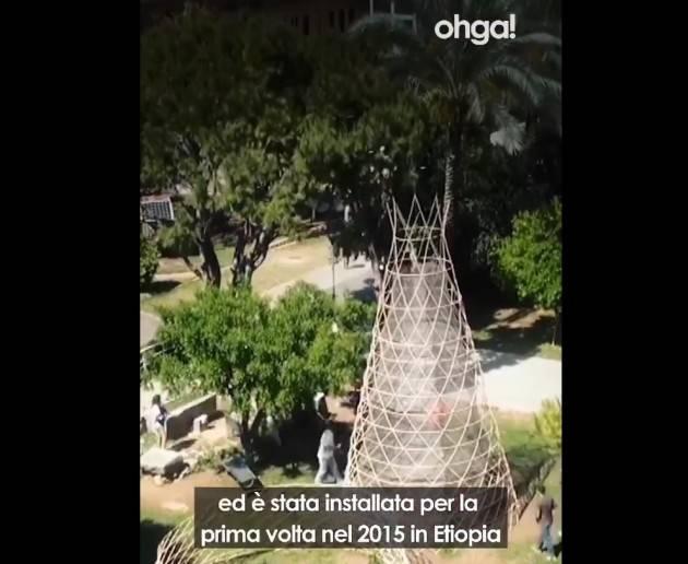Ohga ecco la torre in grado di ricavare acqua dall'aria (Video)