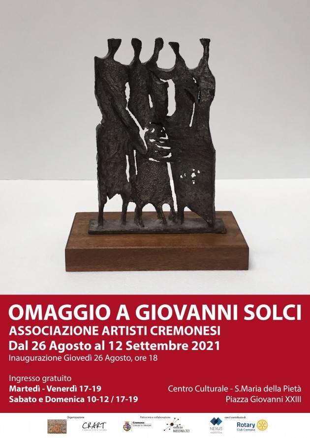 Cremona AAC e CrArT presentano Omaggio a Giovanni Solci