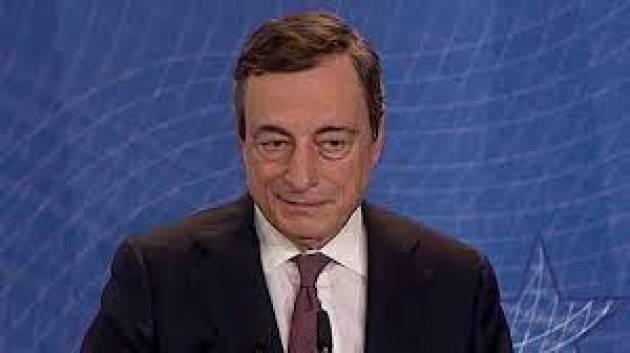 Draghi al Tg1: l'Europa sarà all'altezza in Afghanistan