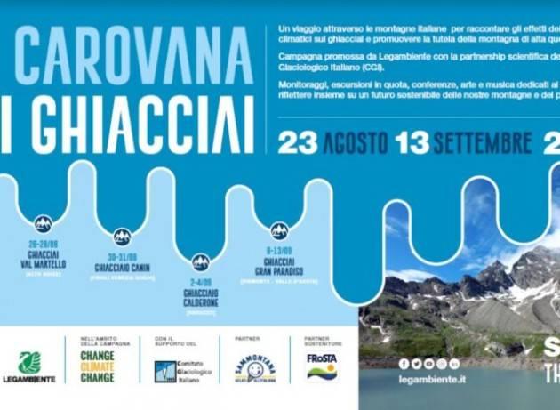Codice rosso per i ghiacciai italiani