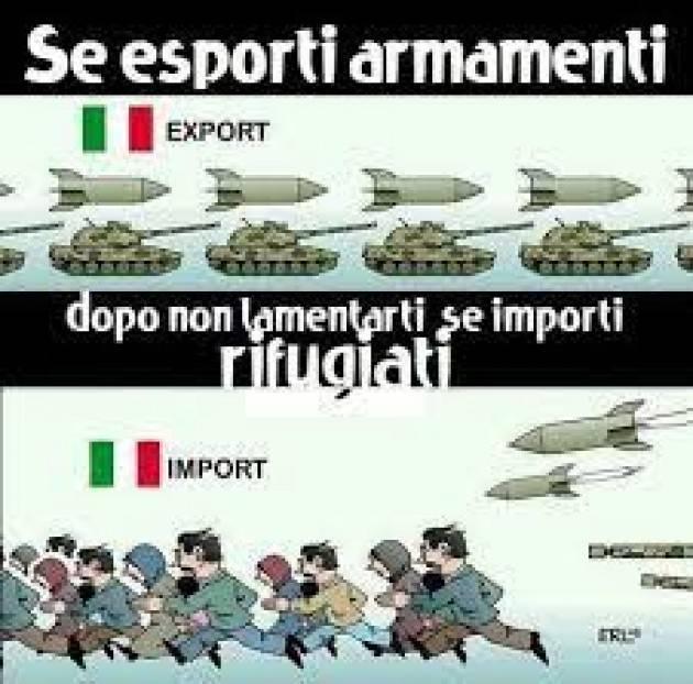 Cremona Pianeta Migranti. Disastro Afganistan l'industria delle armi gongola.