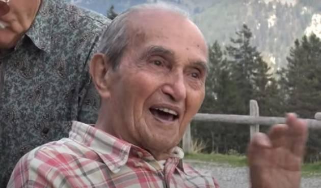 Aurelio Magni ,ultimo partigiano di Casalmaggiore si è spento|Nazzareno Condina