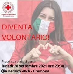 Diventa Volontario con la Croce Rossa di Cremona