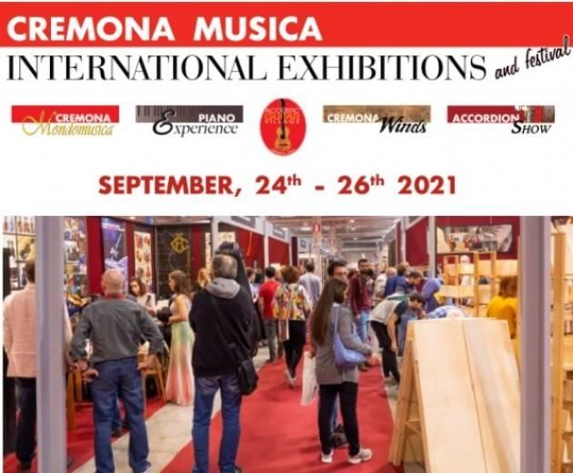 L'EDIZIONE 2021 DI CREMONA MUSICA INTERNATIONAL