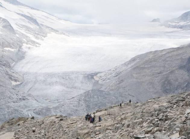 Il ghiacciaio dell'Adamello perde ogni anno 14 milioni di metri cubi di acqua