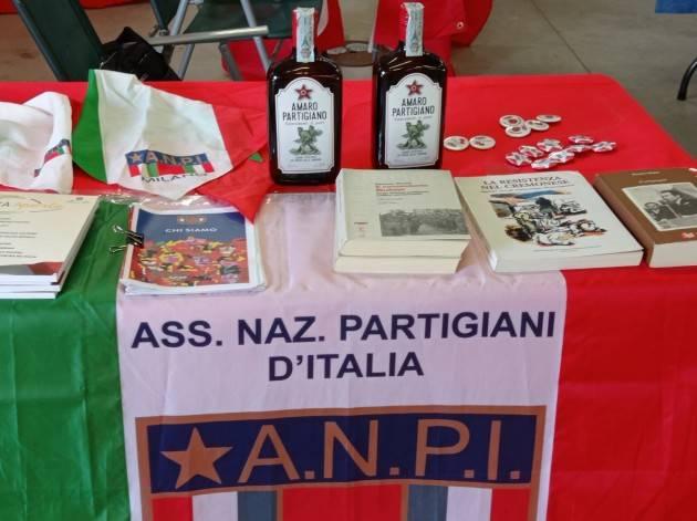 Anpi Crema Presentato alla Festa Unità 2021 il libro  Partigiani a Tavola