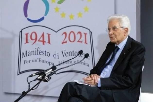 Sergio Mattarella Non accogliere i profughi afghani non è all'altezza dei valori della Ue  GCStorti