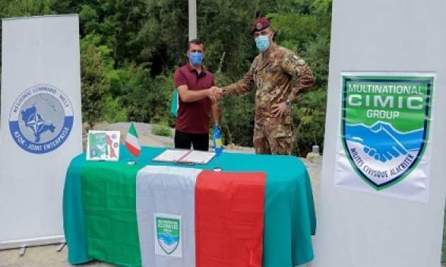 Missione in Kosovo: infrastrutture e donazioni a supporto della popolazione