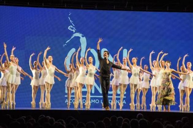 Bolle, On Dance dedicato a Carla Fracci
