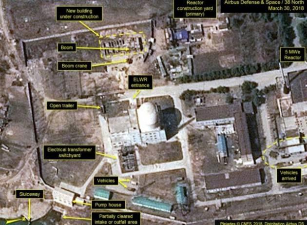 La Corea del nord ha riavviato il reattore nucleare di Yongbyon