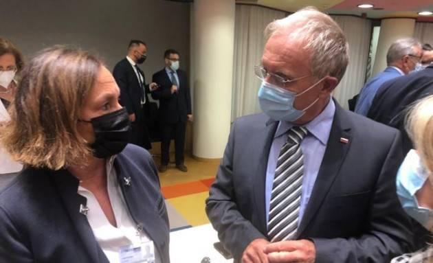 Lamorgese a Bruxelles per il Consiglio straordinario dei Ministri degli interni
