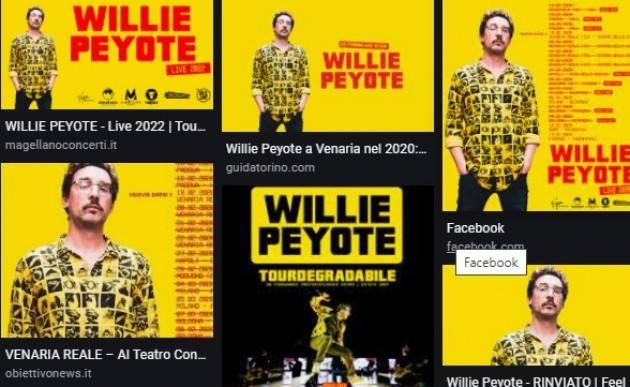 CR News per accedere al concerto di Willie Peyote il 3 settembre
