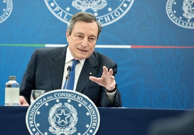 Le sberle di Mario Draghi al 'Salvini'. Bene avanti così !