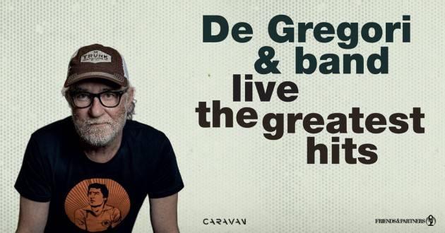 Cremona DE GREGORI & BAND LIVE – THE GREATEST HITS il 7 settembre