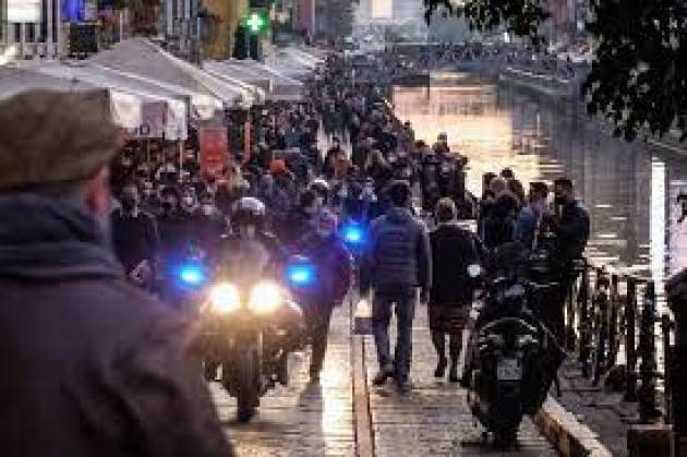 Movida a Milano, prorogata l'ordinanza sui divieti