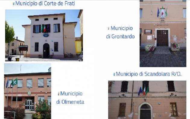 Referendum Unione 12/9/21  CORTE D/F,GRONTARDO,OLMENETA,SCANDOLARA R/O
