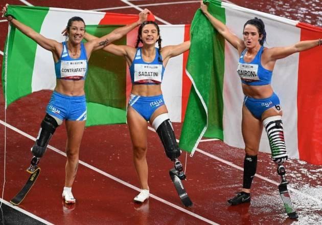 Paralimpiadi Tolio 2020/1,  grande orgoglio per successi atleti italiani