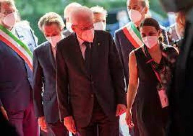 Mattarella inaugura l'edizione speciale 2021 del ''Salone del Mobile''