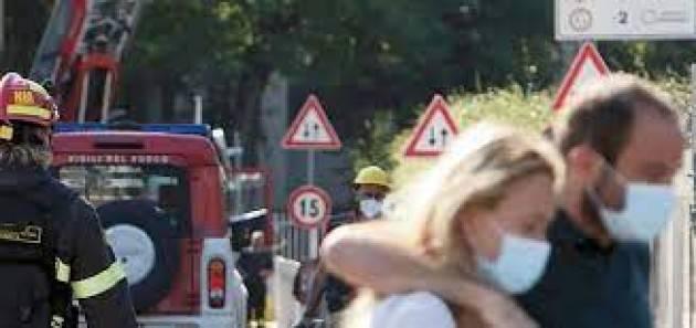 I residenti dell'Incendio a Milano: abbiamo bisogno del Governo
