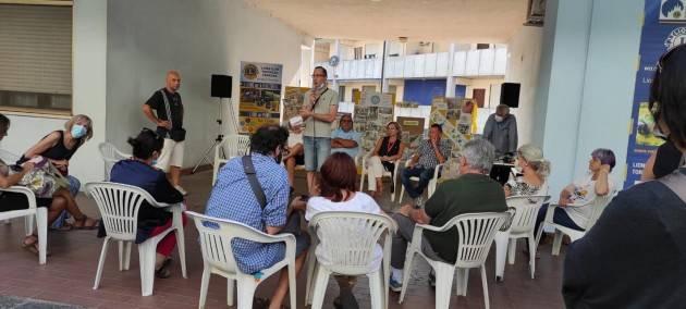 CR Gianluca Galimberti soddisfatto della  festa del volontariato a Borgo Loreto.