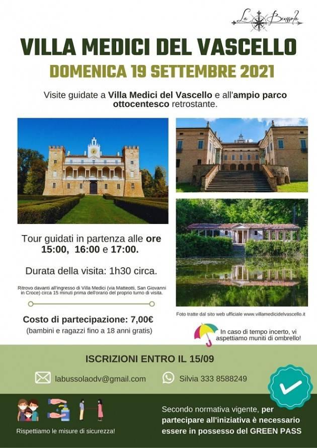 Vacanze finite: La Bussola riparte! visite guidate a Villa Medici del Vascello