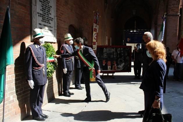 Cremona Commemorato il 78° anniversario dell'8 settembre