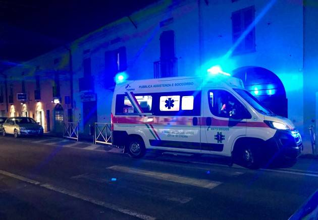 Crema OMBRIANO:19ENNE IN COMA ETILICO !!