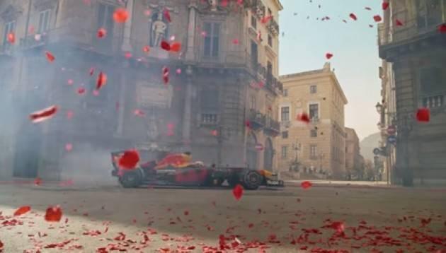 Clip di Verstappen girata a Palermo ''Monza is calling''