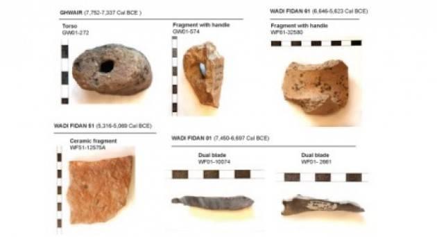 Ricostruito il campo magnetico tra 10.000 e 8.000 anni fa dalle selci preistoriche