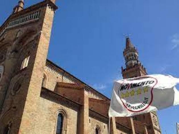 M5S CREMASCO: L'AMMINISTRAZIONE È UN MURO DI GOMMA!