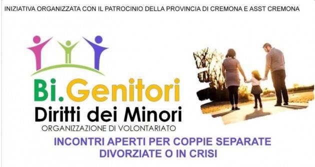 Cremona Bi.Genitori Incontri aperti per coppie separate, divorziate , in crisi