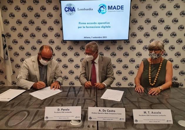 CNA  Transizione 4.0, per le PMI lombarde sarà a costo zero