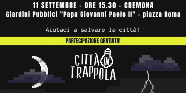Arriva a Cremona il live gaming 'Città in trappola'