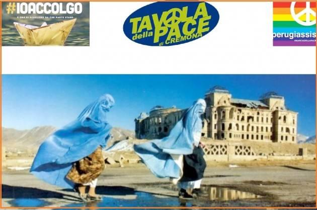 Kabul anno zero Incontro a Cremona il 16 settembre   Tavola della pace