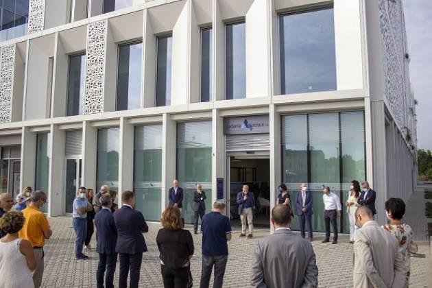 CR Padania Acque  inaugurato nuovo sportello clienti nel 'Building B'  CRIT