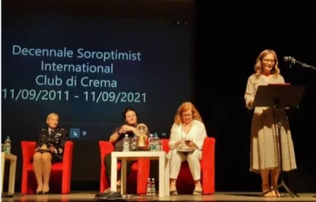 Crema Stefania Bonaldi , tanti auguri a Soroptimist International