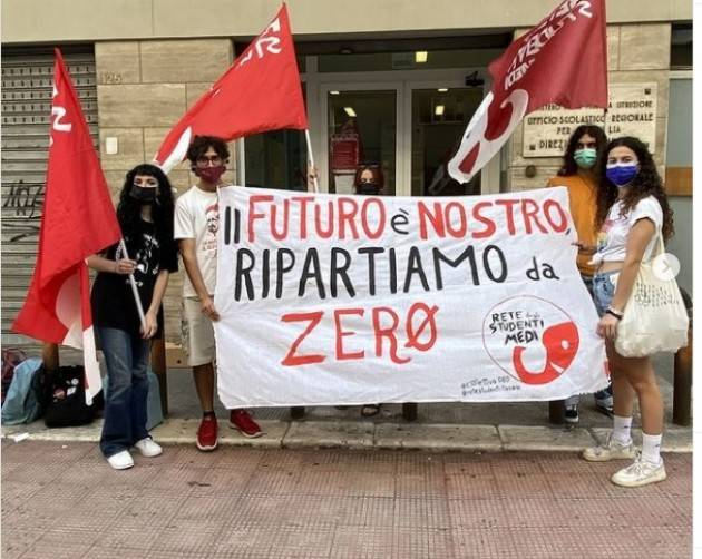 IL FUTURO E' NOSTRO, RIPARTIAMO DA ZERO   Rete Studenti