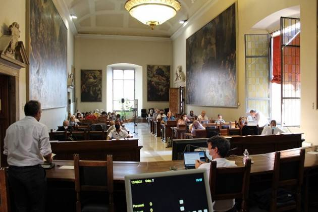 Resoconto sintetico del Consiglio Comunale del 13 settembre 2021