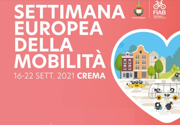 Crema programma cittadino Settimana Europea della Mobilità 16-22 settembre